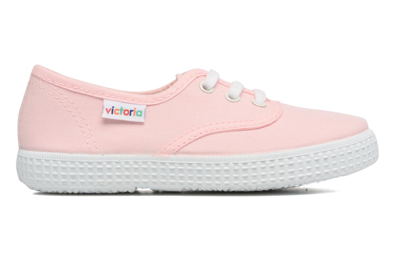 Sneaker Victoria Inglesa Lona rosa ansicht von hinten