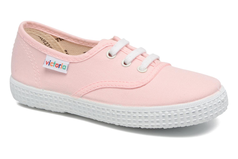 Sneaker Victoria Inglesa Lona rosa detaillierte ansicht/modell