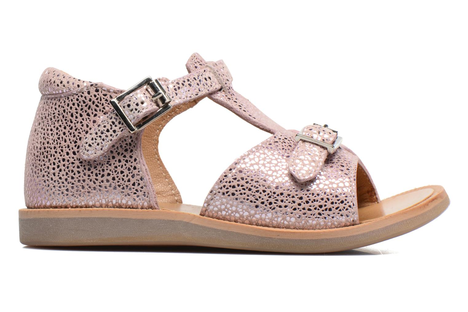 Sandals Pom d Api POPPY BUCKLE Pink back view