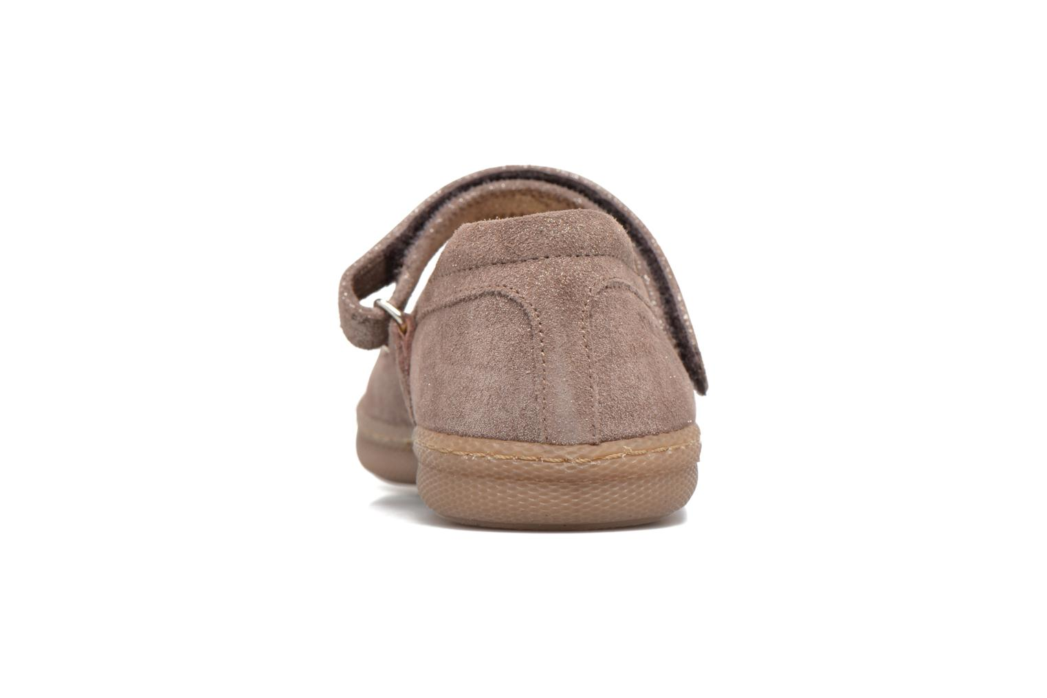Ballet pumps Pom d Api NEW SCHOOL BABY Beige view from the right