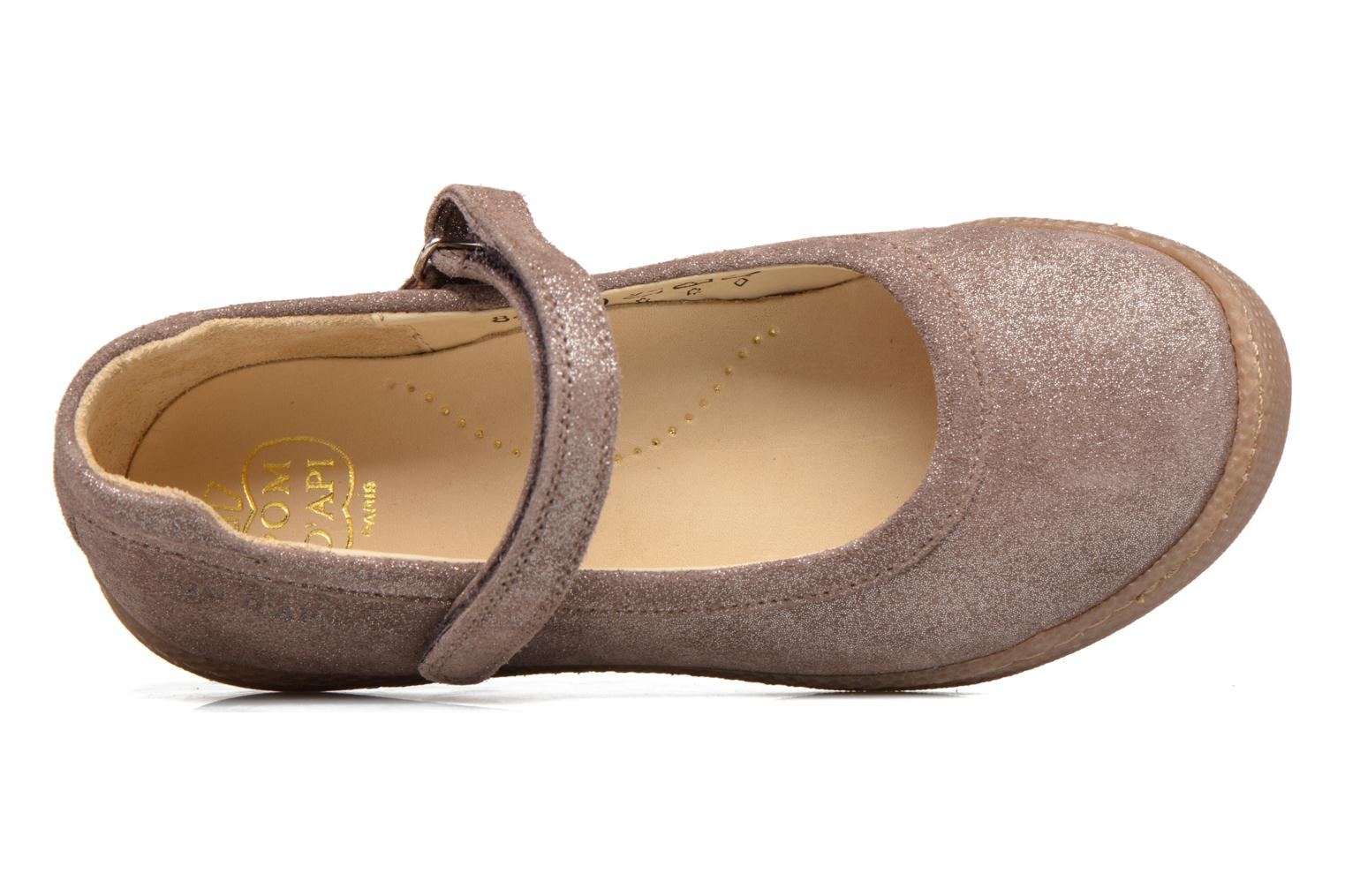 Ballet pumps Pom d Api NEW SCHOOL BABY Beige view from the left