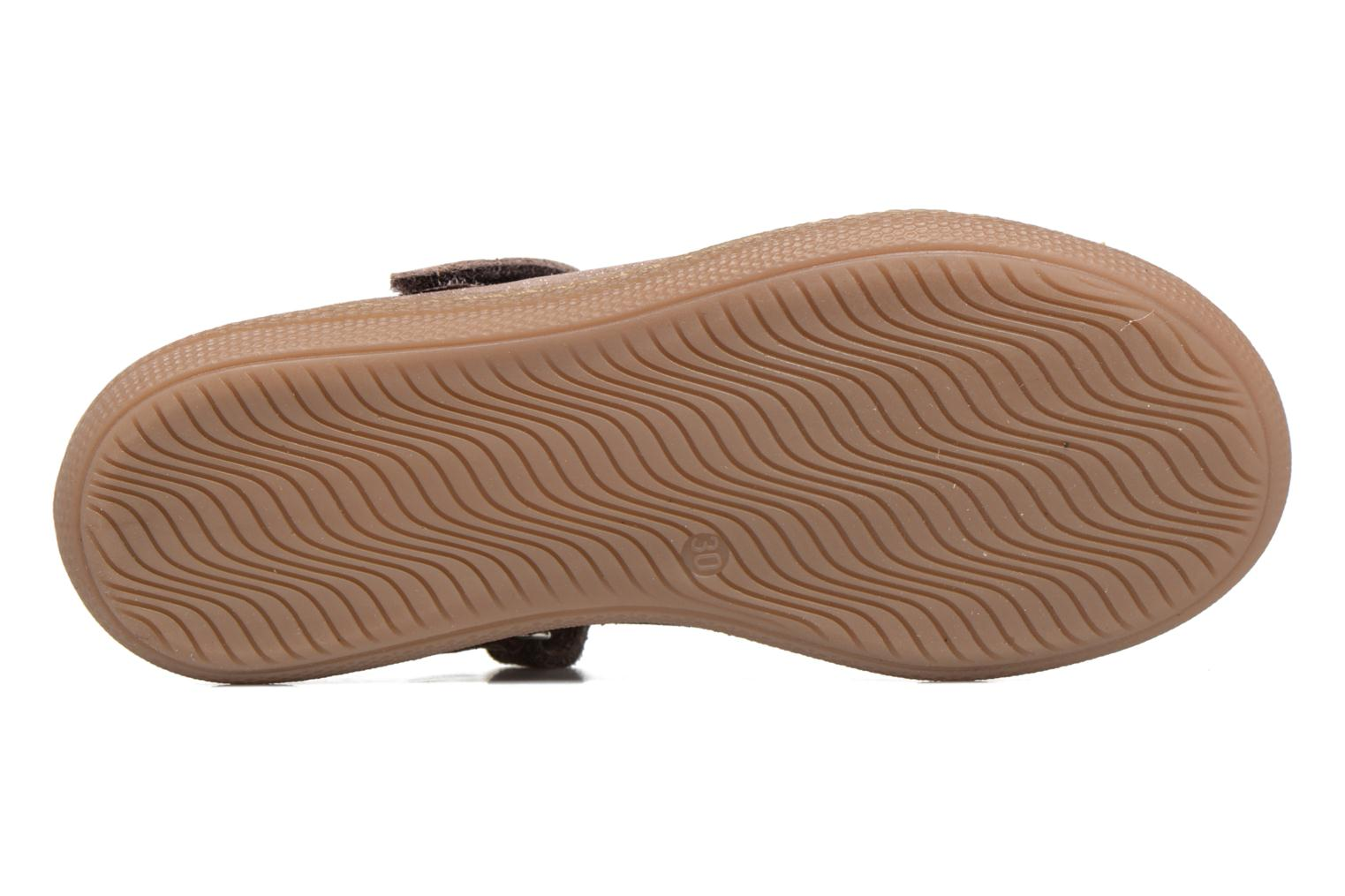 Ballet pumps Pom d Api NEW SCHOOL BABY Beige view from above