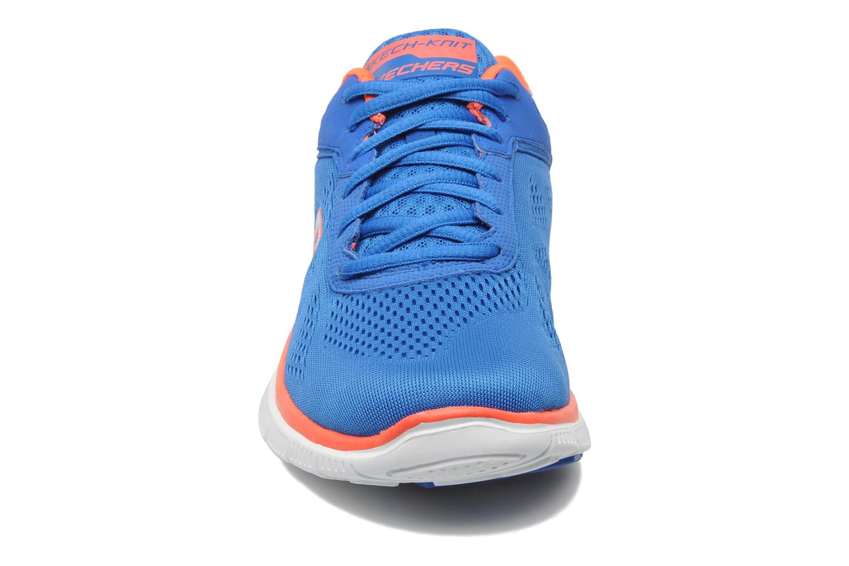 Sportschuhe Skechers Flex Appeallove Your Style 11728 blau schuhe getragen