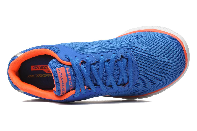 Sportschuhe Skechers Flex Appeallove Your Style 11728 blau ansicht von links