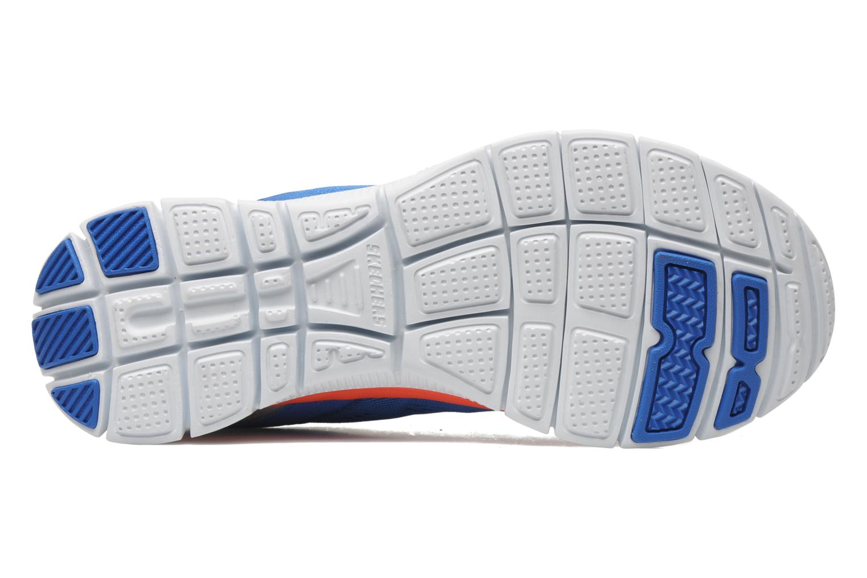 Sportschuhe Skechers Flex Appeallove Your Style 11728 blau ansicht von oben