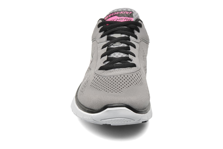 Chaussures de sport Skechers Flex Appeallove Your Style 11728 Gris vue portées chaussures