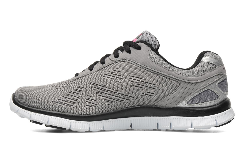 Chaussures de sport Skechers Flex Appeallove Your Style 11728 Gris vue face