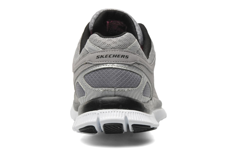 Chaussures de sport Skechers Flex Appeallove Your Style 11728 Gris vue droite