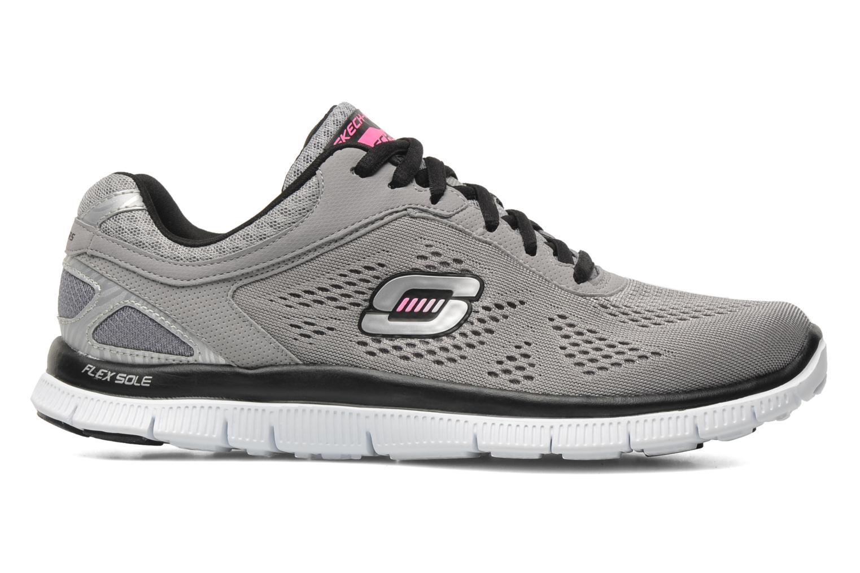 Chaussures de sport Skechers Flex Appeallove Your Style 11728 Gris vue derrière
