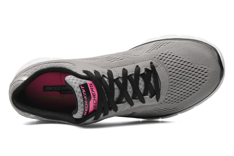 Chaussures de sport Skechers Flex Appeallove Your Style 11728 Gris vue gauche
