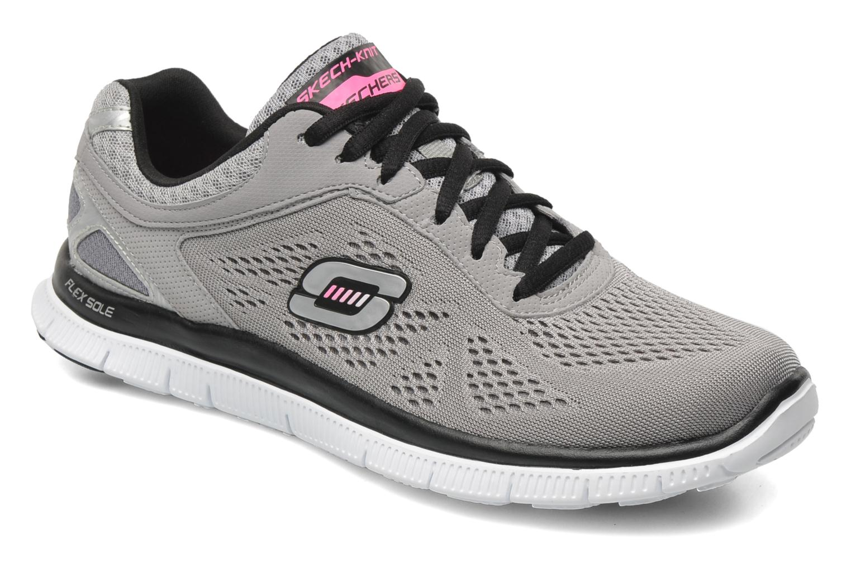 Chaussures de sport Skechers Flex Appeallove Your Style 11728 Gris vue détail/paire
