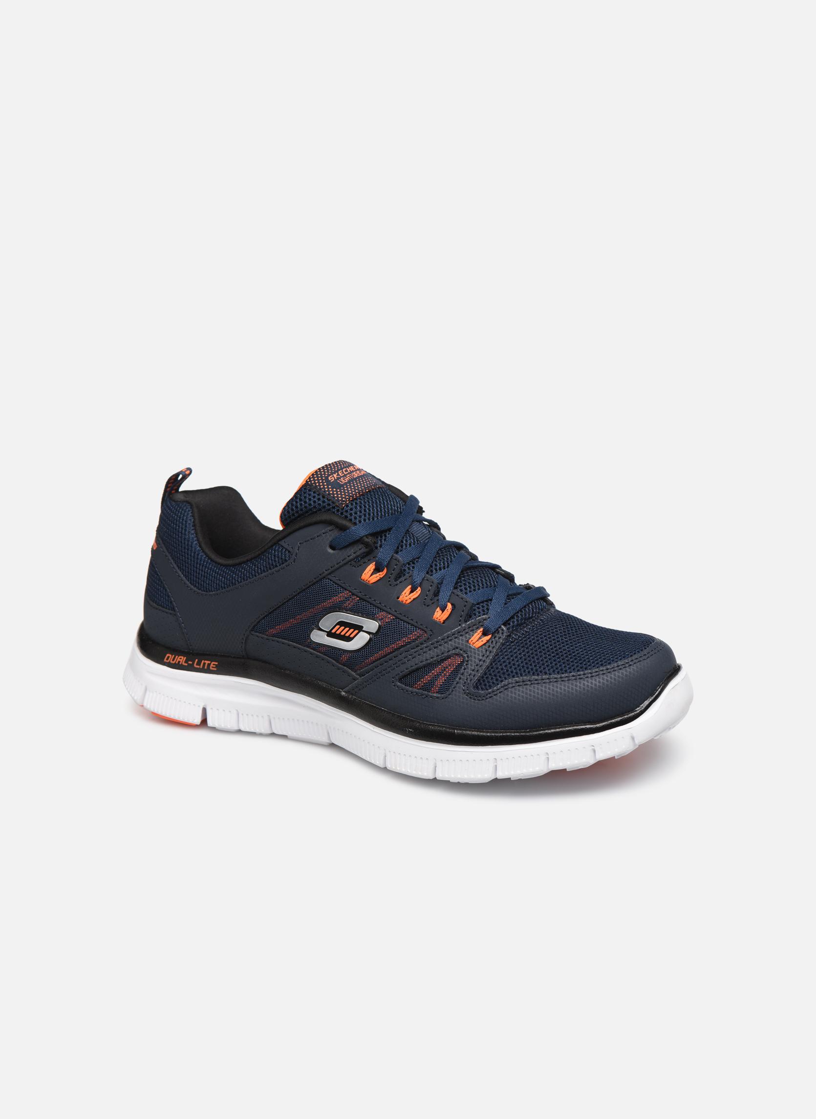 Sportssko Skechers Flex Advantage 51251 Blå detaljeret billede af skoene