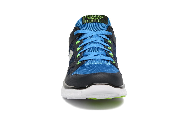 Chaussures de sport Skechers Flex Advantage 51251 Bleu vue portées chaussures