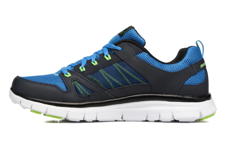 Chaussures de sport Skechers Flex Advantage 51251 Bleu vue face
