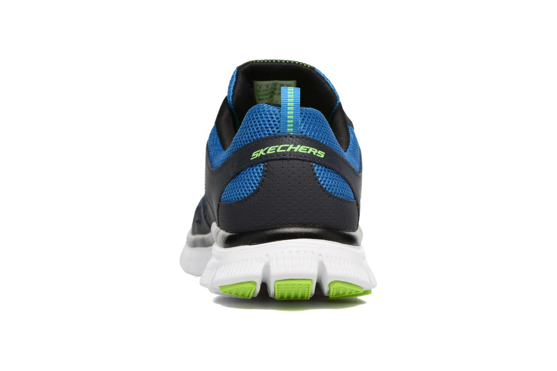 Chaussures de sport Skechers Flex Advantage 51251 Bleu vue droite