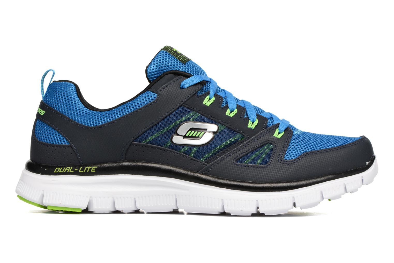 Chaussures de sport Skechers Flex Advantage 51251 Bleu vue derrière