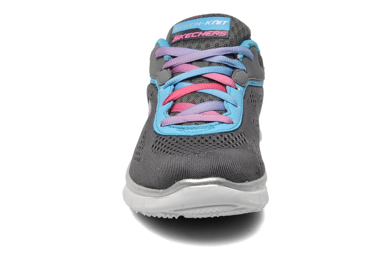 Sneaker Skechers Skech Appeal-Whimzies grau schuhe getragen