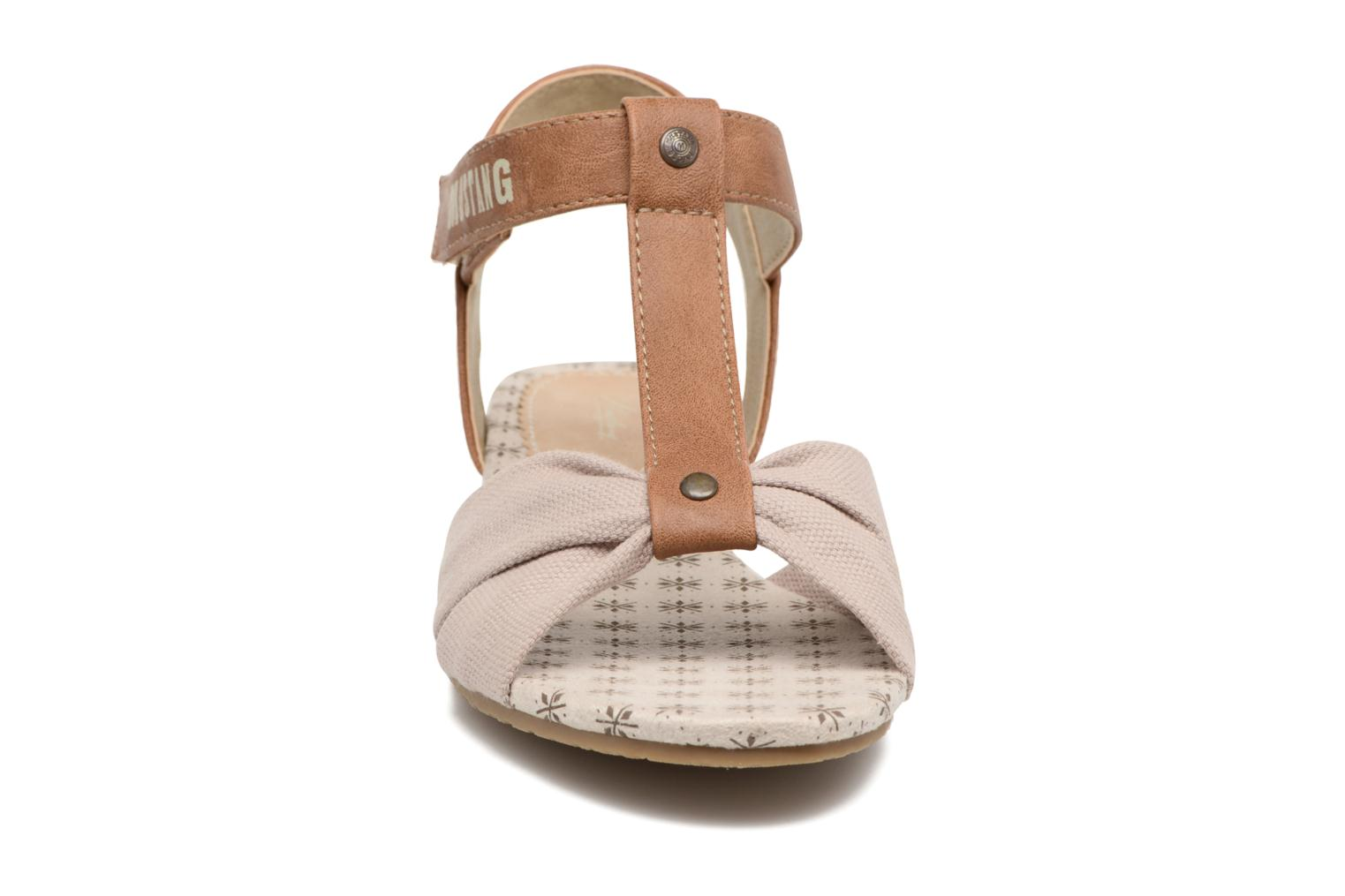 Sandals Mustang shoes Beibei Beige model view