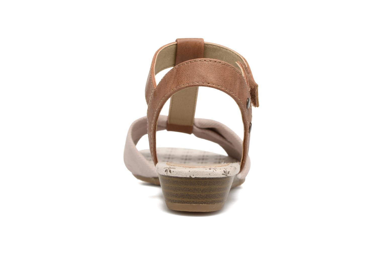Sandalen Mustang shoes Beibei beige ansicht von rechts