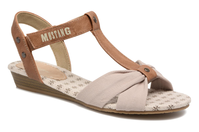 Sandalen Mustang shoes Beibei beige detaillierte ansicht/modell