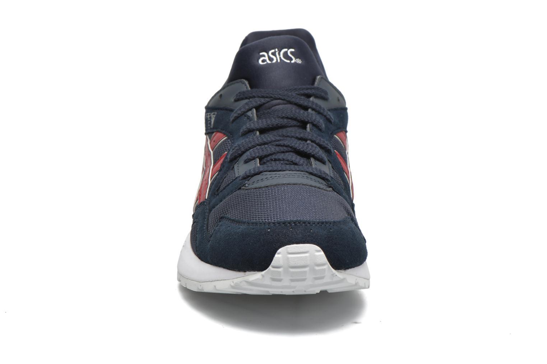 Sneaker Asics Gel-Lyte V blau schuhe getragen