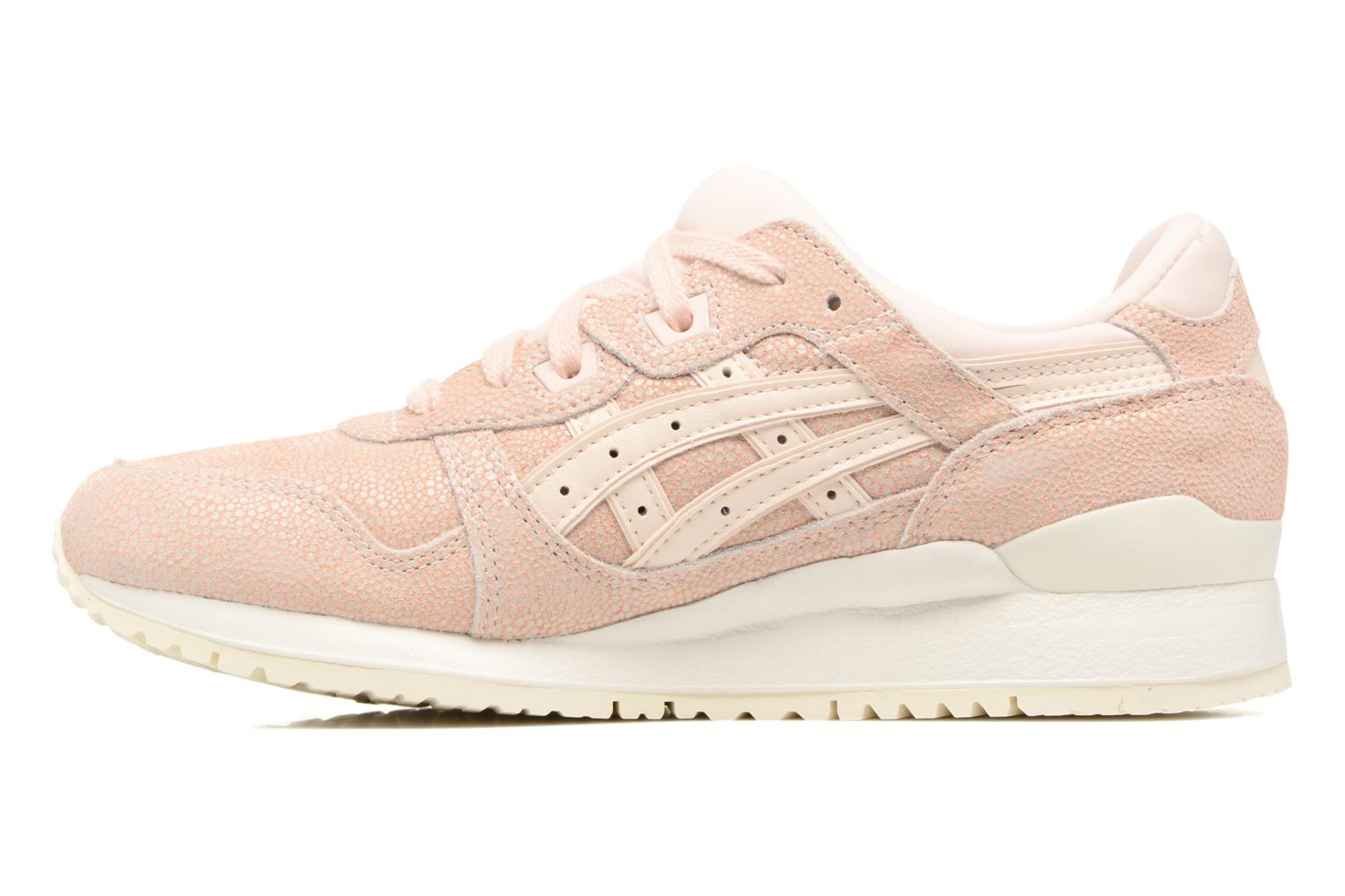 Baskets Asics Gel-Lyte III W Rose vue face