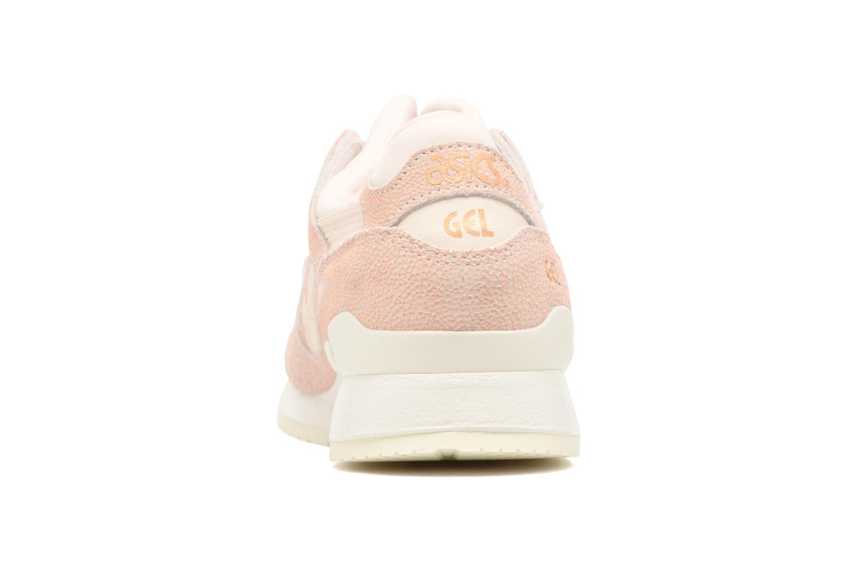 Sneaker Asics Gel-Lyte III W rosa ansicht von rechts