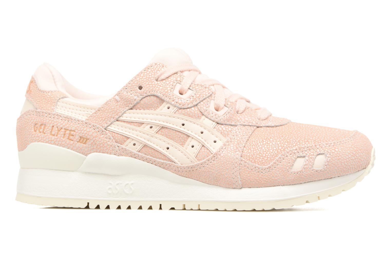 Sneaker Asics Gel-Lyte III W rosa ansicht von hinten