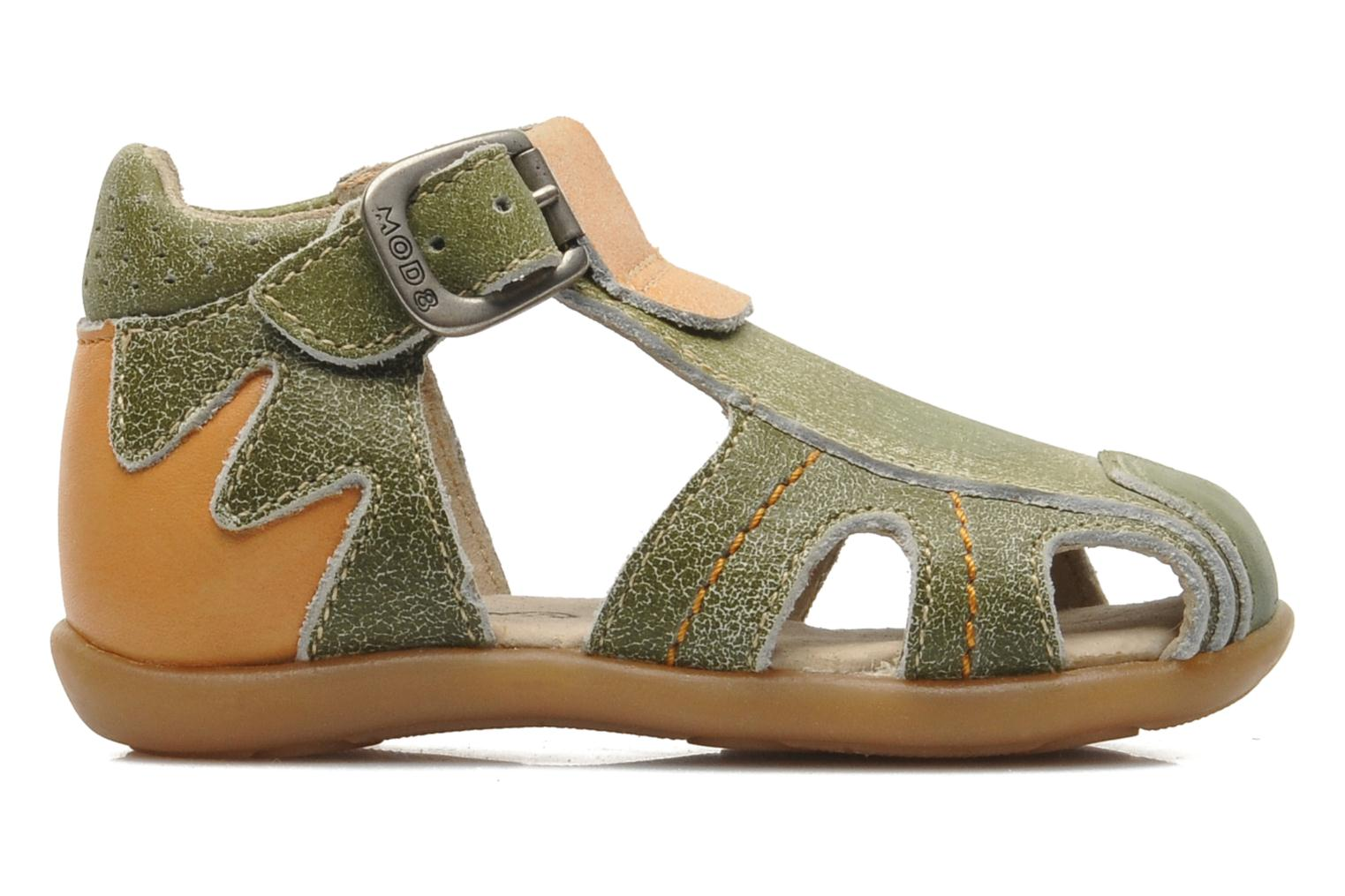 Sandals Mod8 ALUCINE Green back view