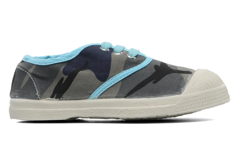 Sneakers Bensimon Tennis Camouflage E Azzurro immagine posteriore