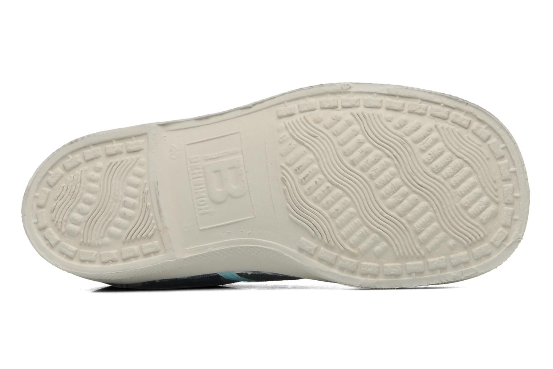 Sneakers Bensimon Tennis Camouflage E Azzurro immagine dall'alto