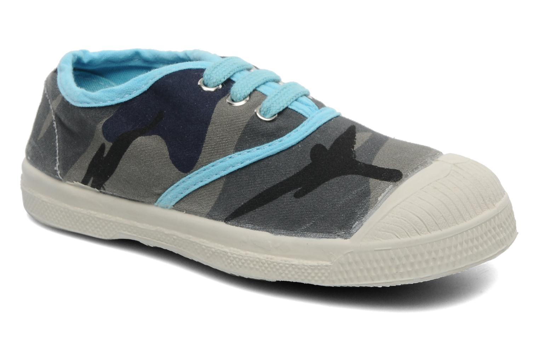 Sneakers Bensimon Tennis Camouflage E Azzurro vedi dettaglio/paio