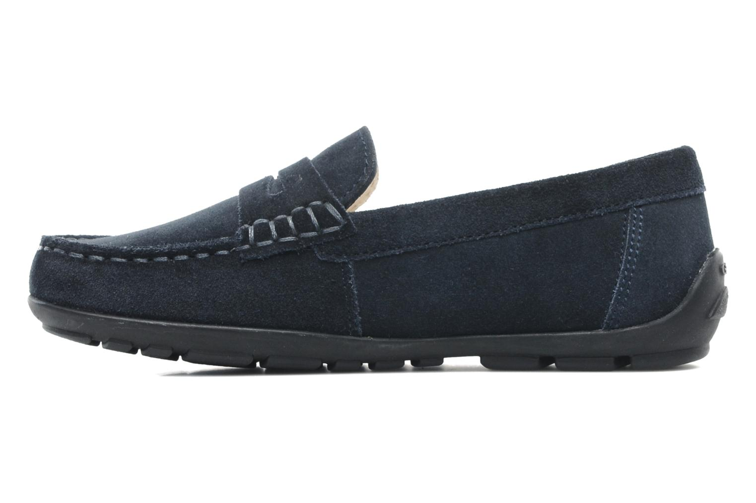 Loafers Geox J FAST B Blue front view