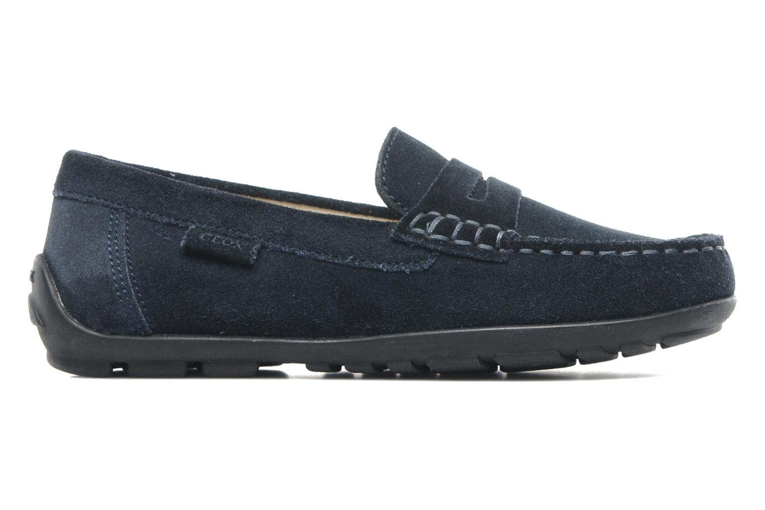 Loafers Geox J FAST B Blue back view