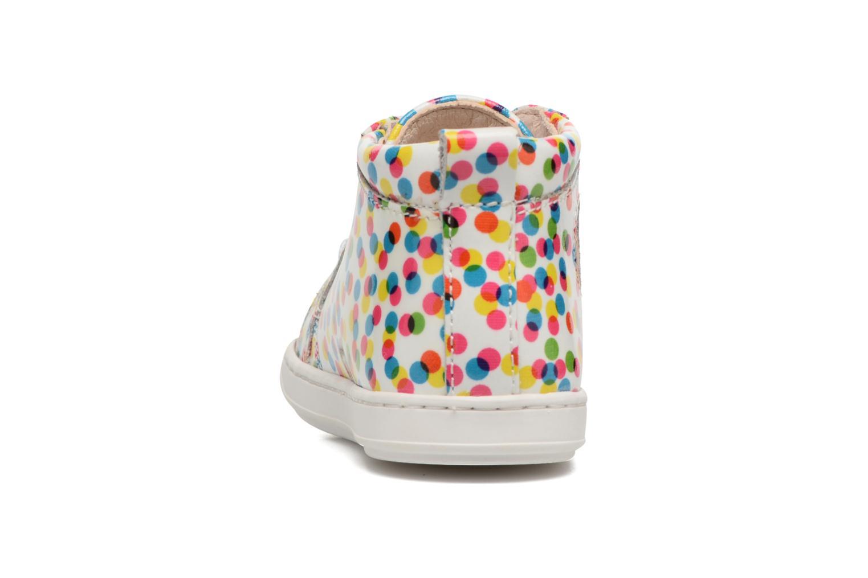 Bottines et boots Shoo Pom Bouba Pad Lace Multicolore vue droite