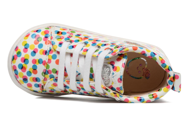 Botines  Shoo Pom Bouba Pad Lace Multicolor vista lateral izquierda
