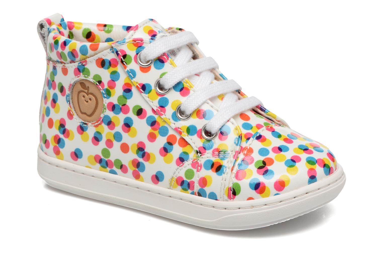 Bottines et boots Shoo Pom Bouba Pad Lace Multicolore vue détail/paire