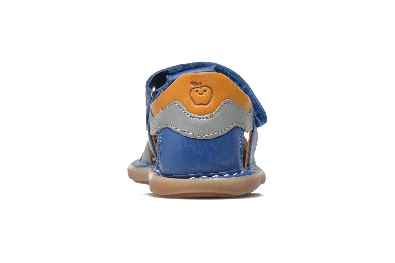 Sandali e scarpe aperte Shoo Pom Crespin Tonton Azzurro immagine destra