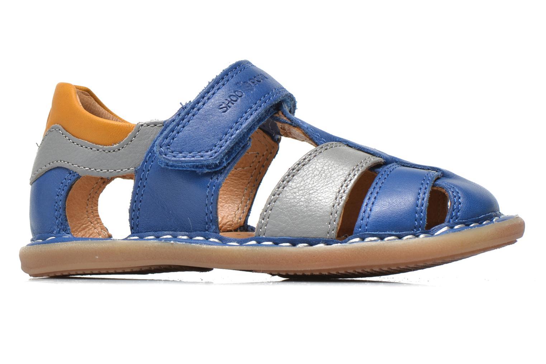 Sandali e scarpe aperte Shoo Pom Crespin Tonton Azzurro immagine posteriore