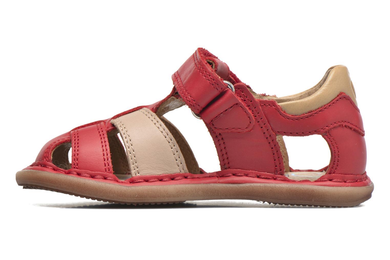Sandali e scarpe aperte Shoo Pom Crespin Tonton Rosso immagine frontale