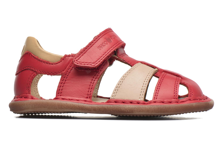 Sandali e scarpe aperte Shoo Pom Crespin Tonton Rosso immagine posteriore