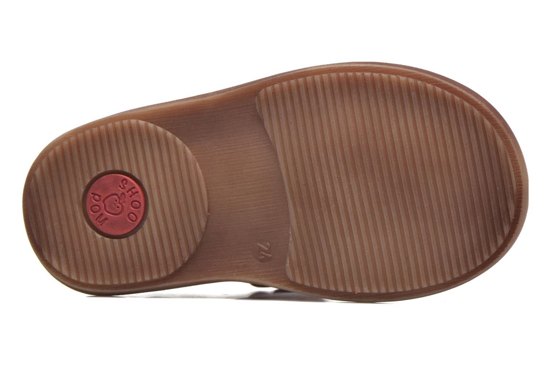 Sandali e scarpe aperte Shoo Pom Crespin Tonton Rosso immagine dall'alto