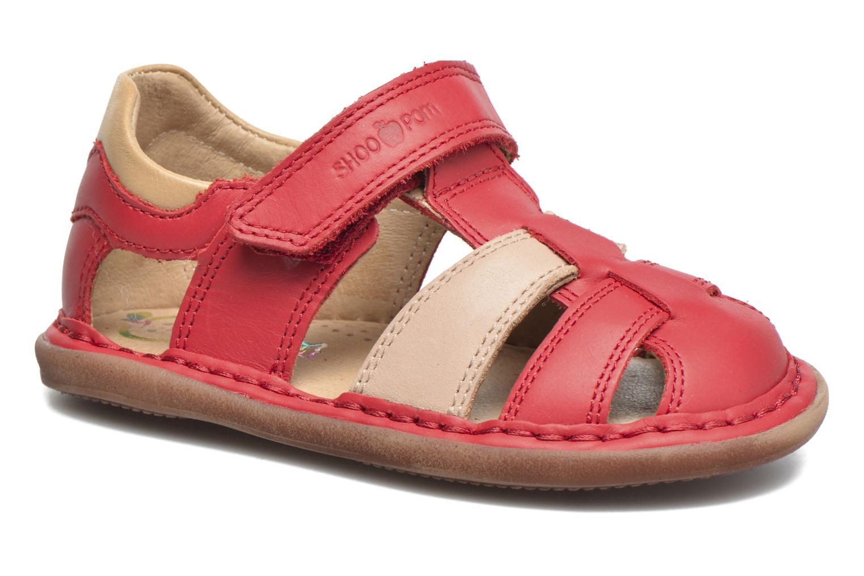 Sandali e scarpe aperte Shoo Pom Crespin Tonton Rosso vedi dettaglio/paio