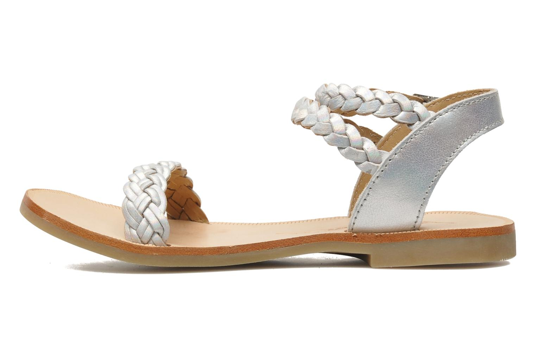 Sandals Shwik LAZAR BI WOVEN Silver front view
