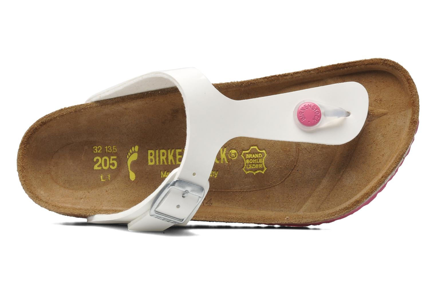 Flip flops Birkenstock Gizeh Birko-Flor White view from the left
