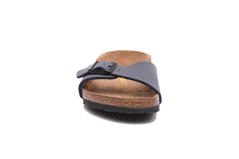 Sandals Birkenstock Madrid Birko Flor Blue model view