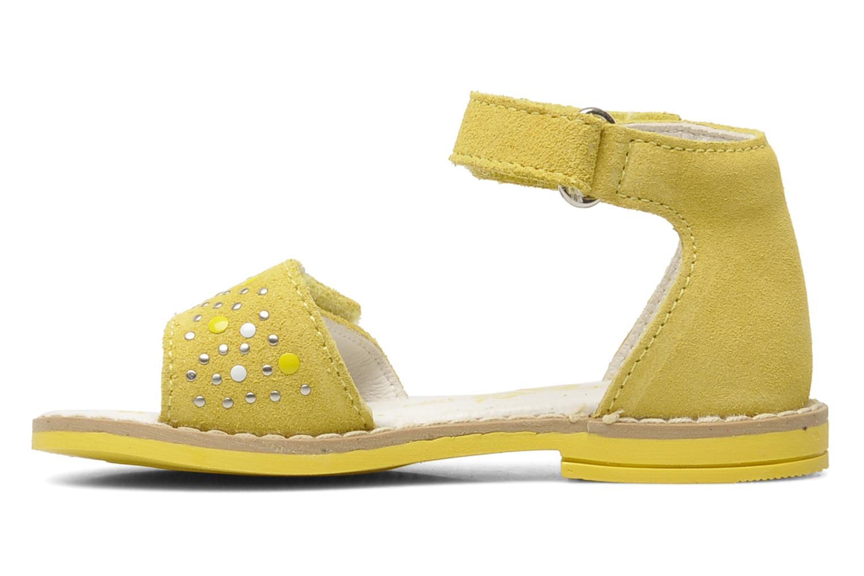 Sandales et nu-pieds Primigi AAMINA Jaune vue face