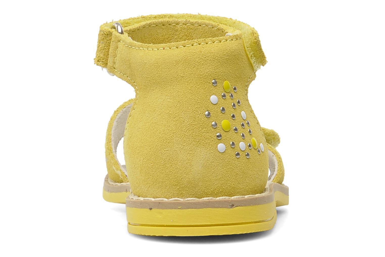 Sandales et nu-pieds Primigi AAMINA Jaune vue droite