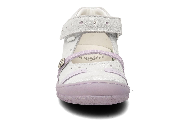 Ballerines Primigi NEREA-E Argent vue portées chaussures