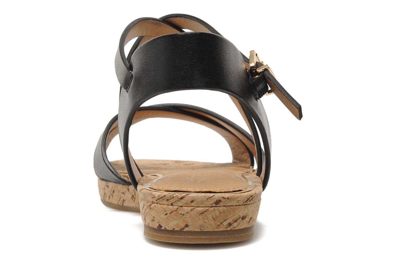 Sandales et nu-pieds Aldo BOUND Noir vue droite